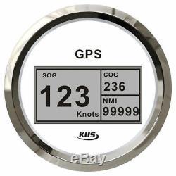 KUS GPS Geschindigkeitsmesser Speedometer Tachometer 0-999 mit digitalem Kompass