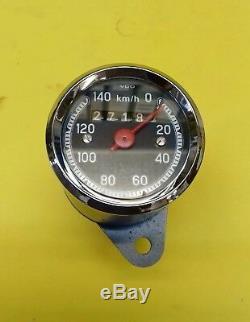 K-M-T. Zündapp GS 125 Anbau Tachometer, instandgesetzt, speedometer