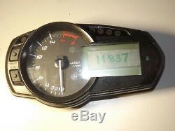 Kawasaki 636 Zx6 Zx6r 6r Zx 13-17 Gauges Gauge Speedo Speedometer 11837 Miles