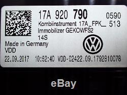 Kombiinstrument Tacho Digitalanzeige Original VW 17A920790