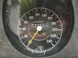 Kombiinstrument Tacho Mercedes W116 280S 1165420101 mit DZM