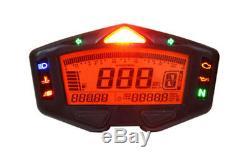 Koso BA038010 DB 03 Racing Cockpit Geschwindigkeit ABE mit Ganganzeige