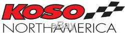 Koso LCD Color Change Speedo & Tachometer Black Bezel BA051231 2211-0172