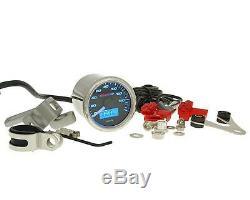 Koso Tacho Tachometer D48 Speedometer GP Style 160 km/h Motorrad Quad ATV Roller