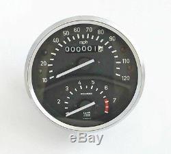 Meilen-Tacho für BMW R60/5, NEU Speedo 120mph, NEW Miles-Speedometer