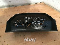 Mercedes Benz W124 Kombiinstrument Tachometer Diesel 1205401048 Schalttafel