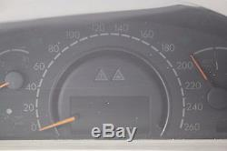 Mercedes S400 W220 Kombiinstrument, Tachometer, Tacho KM/H A2205402547