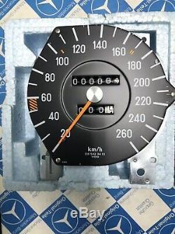 Mercedes W116 450 SEL 6.9 Neu Tachometer- Speedometer 260km/h
