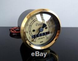 Mini-TACHO/Tachometer Speedo/Compteur vintage, 48mm, k=1,4 f. JAPANER SR 500 +
