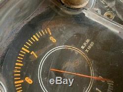 Mopar E Body Rallye Gauge Cluster 1970 1974 8k Tach 150 Speedometer