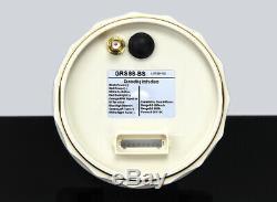 Motorrad GPS-Tachometer Speedo 200km/h m. Drehzahlmesser w. Rev Counter Ø85mm