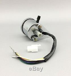 Motorrad Mini Tachometer Speedometer Tacho Cafe Racer Bobber Scrambler Custom