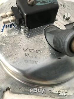 NEU Mercedes-Benz W107 SL SLC VDO km/h Tachometer Einsatz KPH Speedometer OE RMF