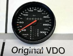 NEU Porsche 911 964 993 Tachometer 300km/h Tiptronic Speedometer 96464152600 new