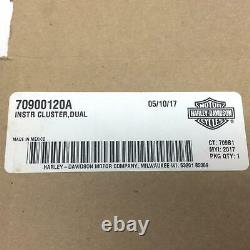 NEW Genuine Harley Speedo Tach Cluster Touring 2014up Ultra Limited 70900120A