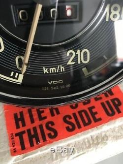 NEW NOS Mercedes-Benz 190SL W121 VDO Speedometer + Tachometer (Remanufactured)