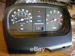 NOS Harley Davidson FLT Special Gauges Speedo Speedometer Tach KMH Kilometer