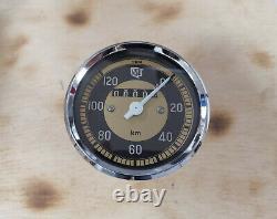 NSU Max, Lux VDO Tacho, 80mm, 120 kmh, instandgesetzt, top Zustand, speedometer