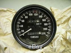 Neu/new Yamaha Tx 500 Tx 650 A Xs 650 74/75 Tachometer Tacho Speedometer Speedo