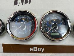 OEM Harley 04-13 Touring Custom POW MIA Speedometer Gauges Set Speedo Tach