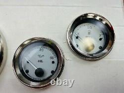 OEM Harley Touring Gauges Speedo Fuel Volt Oil Tach Air Speedometer 2659