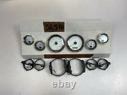OEM Harley Touring Gauges Speedo Fuel Volt Oil Tach Air Speedometer 52,516 Ml