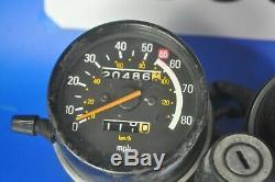 OEM YAMAHA XT500 XT 500 instrument ignition Speedometer Tachometer SPEEDO
