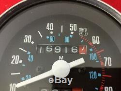 ORIGINAL 1982 HARLEY FXRT SPEEDOMETER AMF GAUGE 16K mile SPEEDO TACH DYNA XL FXR