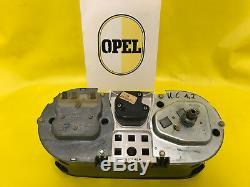 ORIGINAL Opel Tacho mit Drehzahlmesser + Uhr passend für alle Kadett C Modelle