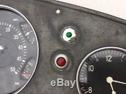 Old Art Deco Brill Bus Instrument Panel Coe Fire Truck Rat Rod Gmc Diesel Scta