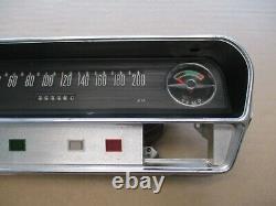 Opel Rekord A B Tacho 200km/h Speedometer Temperaturanzeige W=666 NEU original