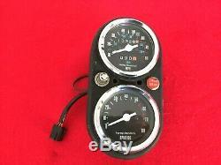 Original 1982 Harley Fx Fxe Speedometer Tachometer Amf Gauges Speedo Tach Fxr
