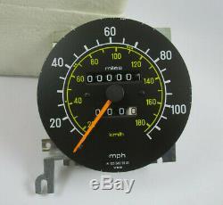 Original Mercedes Benz W123 US Tachometer Tacho VDO Speedometer A0105425606