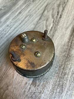 Original Stewart Warner Vacuum Instrument Gauge Panel Dash Hotrod SCTA TROG