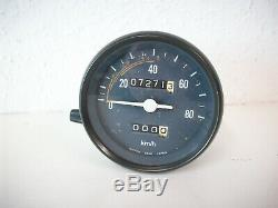 Original Tacho, Tachometer / Speedometer Honda CY 50, erst 7271Km