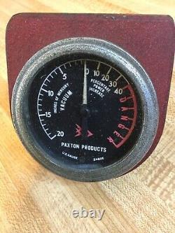 Paxton Supercharger Mcculloch Blower Mustang Cobra Thunderbird Studebaker Gauge