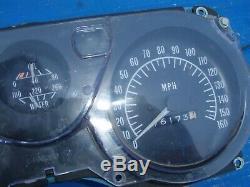 Pontiac firebird 1975 1974 1973 1972 1971 1970 speedo meter cluster tachometer