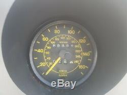 Porsche 944 Speedo Clock Set Porsche 924 Speedo Clock Set Yellow