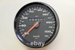 Porsche 964 993 Turbo Tacho Tachometer Speedometer 99364154600 kmh NEU Original
