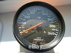 Porsche Tacho 959 935 911 930 Tachometer Speedo Speedometer 95964150700 350 km/h