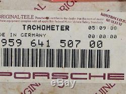 Porsche Tacho 959 935 Tachometer Speedo 95964150700 speedo speedometer mph