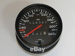Porsche Tacho 959 935 Tachometer Speedo Speedometer 95964150700 350 km/h