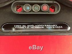 RARE 1993 HARLEY SPORTSTER 90th ANN. SPEEDOMETER TACHOMETER TACH DYNA SPEEDO FXR