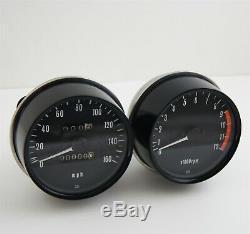 Restored 1973-75 kawasaki z1 Gauge Instrument Cluster Speedometer Tachometer oem