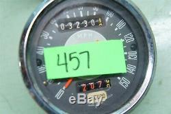 Smiths Enduro Gauges Speedometer Tach Speedo Grey Face Tr6c T120tt T120c Sc Cb