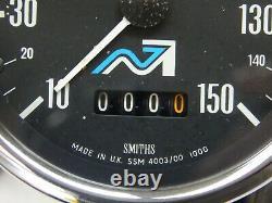 Smiths Speedometer Speedo Gauge 1975 Norton Commando Mkiii Nvt 850 Electric Star