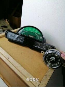 Speedometer Instrument Cluster WOLGA GAZ M21 Trailblazer Dash Panel Gauges ORIG