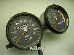 Speedometer Speedo Rev. Counter Dt 250 Mph Dt 400 Tacho Tachometer Drehzahlmesser