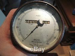 Stewart Speedometer No. 11 103mm Ford T A Tacho Tachometer Brass USA no Corbin