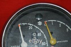 Suzuki 250 X6 T20 Speedometer Tachometer Tach Speedo Super Six Hustler 1966-68